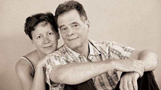 Kevin Gardiner in Erika (foto: Mateja Jordović Potočnik)