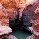 Izvir vode v gorovju Acacus (foto: Davor Rostuhar)