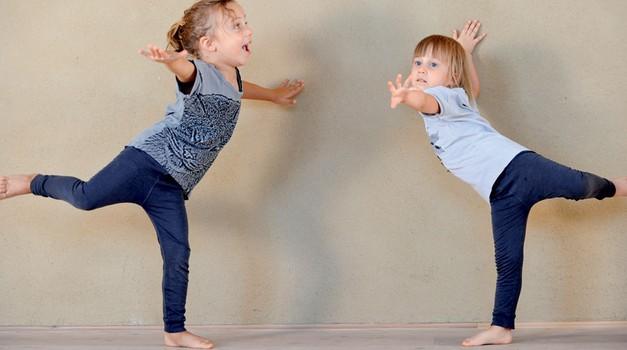 Pravljična joga za otroke (foto: Mateja Jordovič Potočnik)