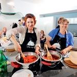 Sensa kuharski tečaj: Preprosto in zdravo (foto: Mateja Jordović Potočnik)