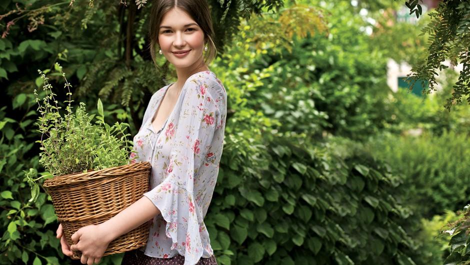 Delo z rastlinami izboljša povezanost med zavestjo in telesom (foto: Marko Grubišić)