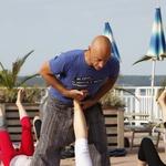 Robert Honn je kot učitelj registriran pri svetovni zvezi joge (Yoga Alliance, ZDA). Je soavtor knjige Mahabharata in joga. (foto: Helena Kermelj)