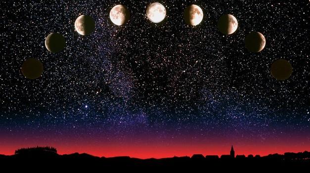Včasih je bil menstrualni cikel žensk sozvočen z luninimi menami. (foto: Profimedia)