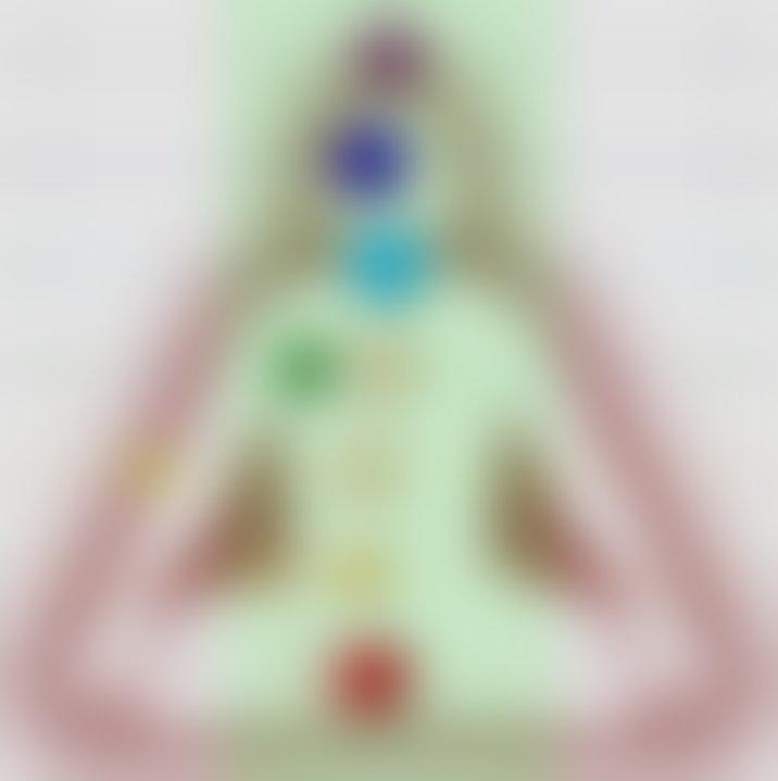 Obarvane pike prikazujejo stanja posameznih čaker takoj po tem, ko se je Sandi spravil v posebno stanje. Senčeni krogi predstavljajo začetno in končno stanje. Vmesna meritev je meditativno stanje (obarvani krogi) , kjer so se spremenile tako energije posameznih čaker (velikost krogov) kot tudi uravnovešenosti (zamaknjenost levo / desno od sredinske črte).