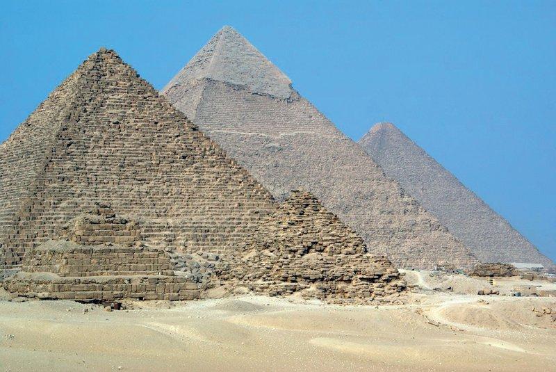 Piramide v Gizi – Egipt