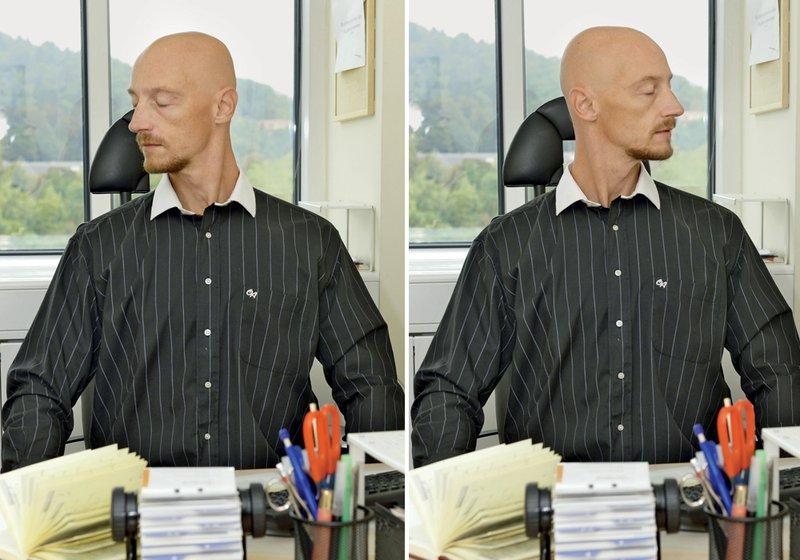 Levo-desno, rotacija vratu
