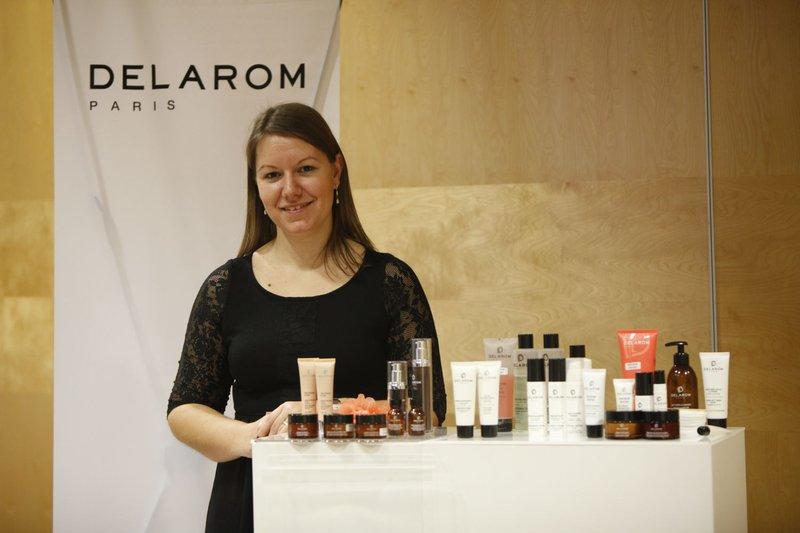 Predstavitev vrhunske francoske naravne kozmetike DELAROM.