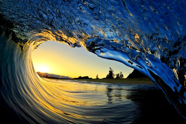Neverjetne fotografije valov s sanjskih Havajev (foto: profimedia)