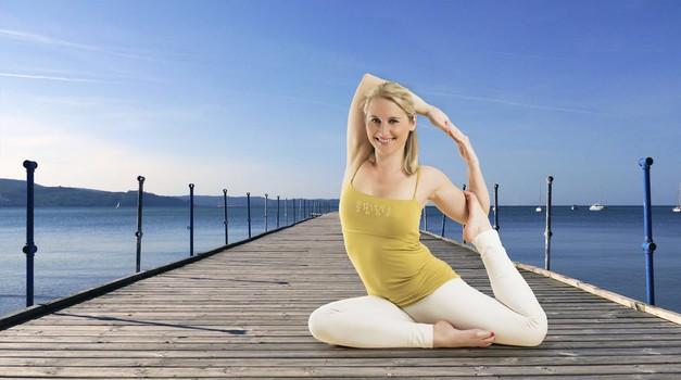Pomladni jogijski oddih na morju (foto: Mokini yoga)