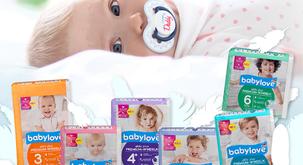 Starši zaupajo udobnim in nežnim pleničkam babylove aktiv plus