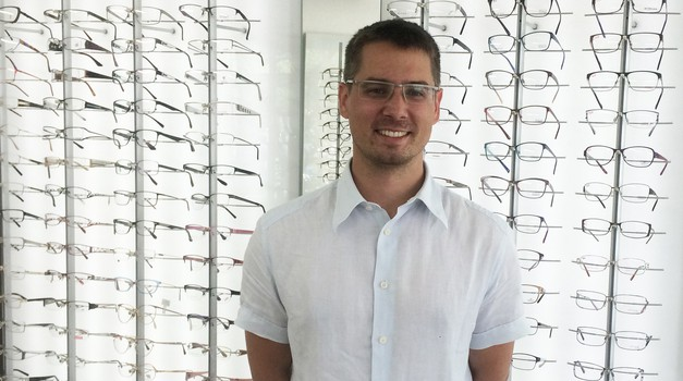 Nakup novih očal s pridelki, izdelki ali storitvami (foto: Optika Ventura)