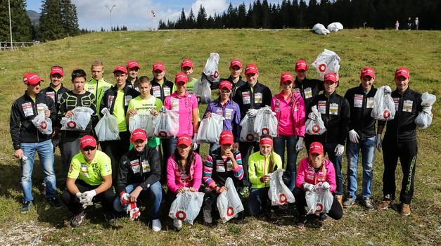 V soboto na Pokljuki zaključek akcije Očistimo naše gore (foto: www.triglav.si)