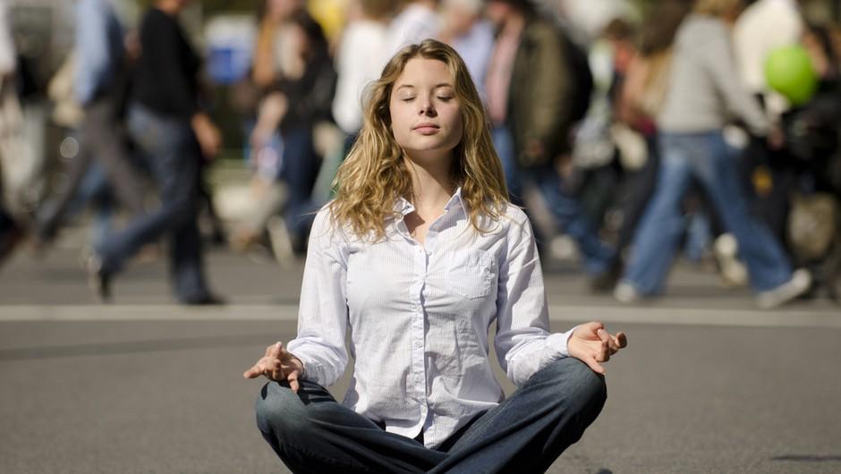 2-minutni uničevalci stresa: Vizualizacija - dihanje (foto: Shutterstock)