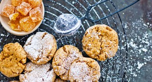 Zdrave sladice: Kamutovi piškoti s kandiranim ingverjem