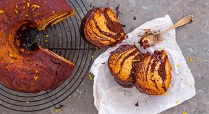 Zdrave sladice: Zebrin kolač s pomarančo