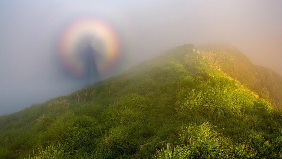 Mističen pojav na vrhu Karavank (foto: Aleš Krivec)