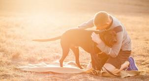 VIDEO: Psiček rešil življenje posvojitelju