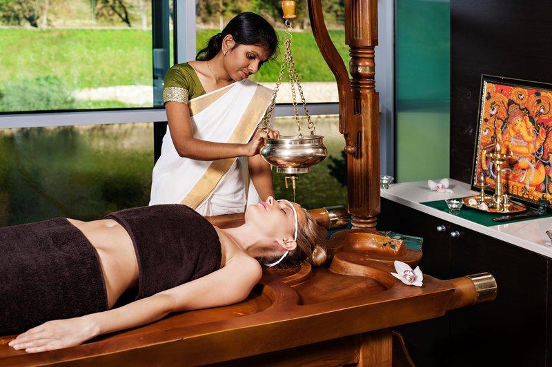 Ayurvedska masaža v Thermani Laško.
