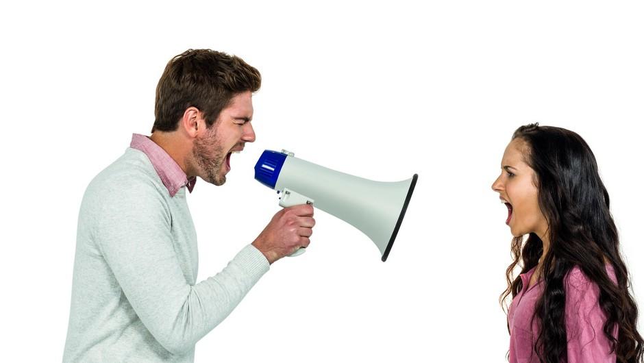 Zgodba: Zakaj med prepirom kričimo? (foto: profimedia)