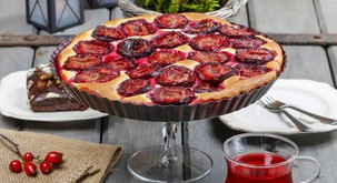 Recept: Veganska slivova pita
