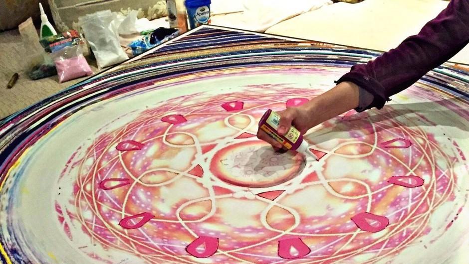 Čas je za pozitiven pogled na svet: Art & Sound – Mandala Inspired Weekend (foto: Promo)