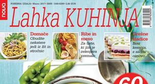 Lahka kuhinja, polna slastnih receptov, že na prodajnih mestih!