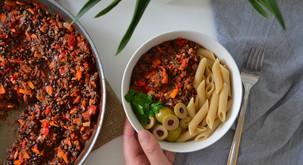 Recept: Lečina bolonjska omaka