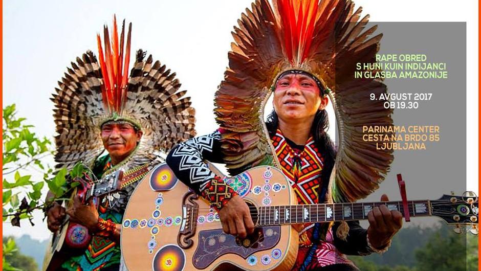 V Slovenijo prihajajo Huni Kuin Indijanci (9. avgust)