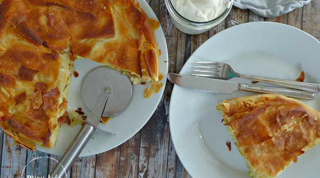 Recept: Burek ali pita s tofujem