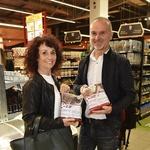 Branko in Radojka Merhar sojita za blagovno znamko Good4Dogs. (foto: Igor Zaplatil)