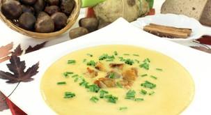 Recept: Kostanjeva juha