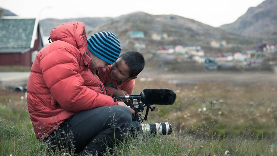 """Rožle Bregar: """"Inuiti so bili pred prihodom belega človeka srečni."""" (foto: Last Ice Hunters)"""