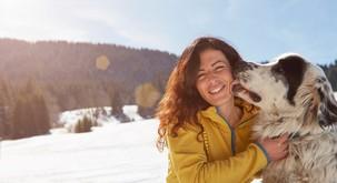 Hvala psom za lekcijo brezpogojne ljubezni
