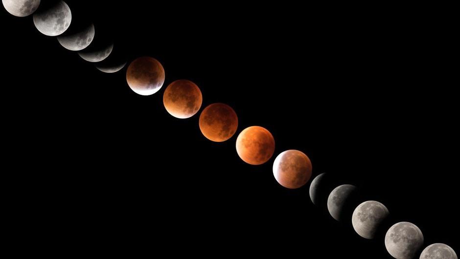 Prihaja super krvav in moder lunin mrk (31. januar) (foto: Profimedia)