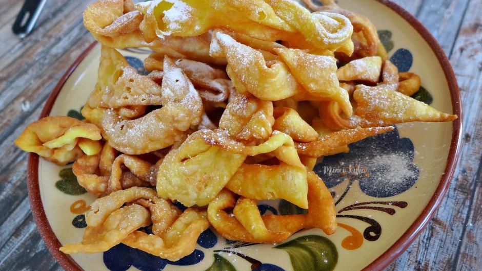 Recept: Veganski krhki flancati (foto: Jasmina Hrastovec)