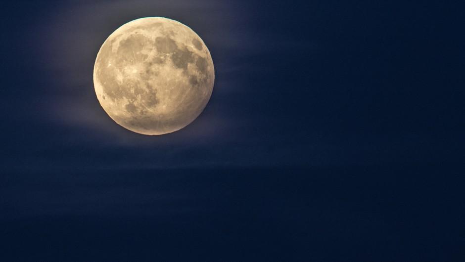 Polna luna (28. junij) v kozorogu (foto: unsplash)