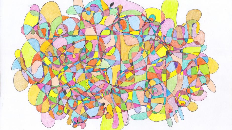 Uvodna delavnica metode fraktalne risbe (foto: Deja Muck)