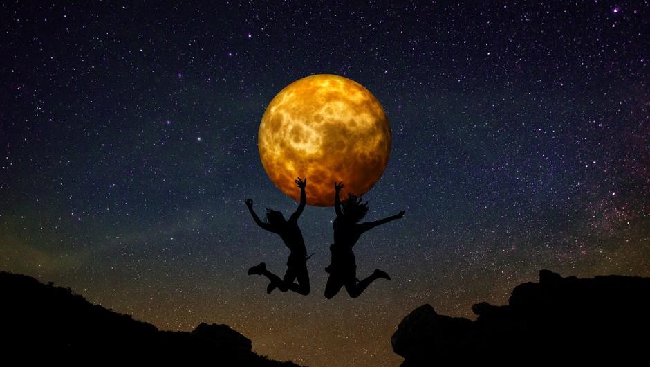 Polna luna v dvojčkih (23. 11.) - Več jasnine (foto: pixabay)