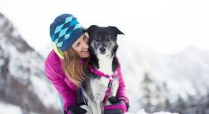 Zimski pasji kamp v Bohinju