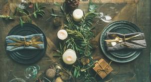 Silvestrske večerje pri nas in po svetu - kolaž navdihov