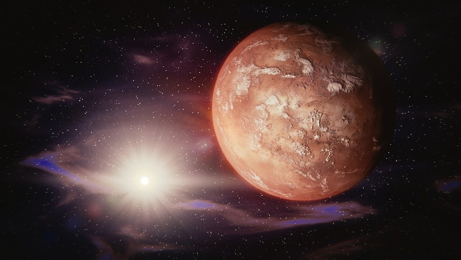 Mars v levu se bo dotaknil vašega ega (foto: pixabay)