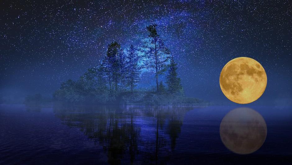 Žetvena polna luna (14. 9.) (foto: pixabay)