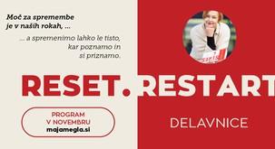 RESET.RESTART delavnice z Majo Megla